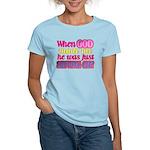 God Showing Off Women's Light T-Shirt