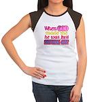 God Showing Off Women's Cap Sleeve T-Shirt