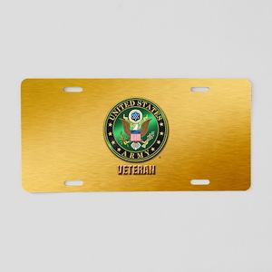 U.S. ARMY VETERAN Aluminum License Plate