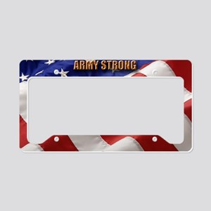 ARMY STRONG License Plate Holder
