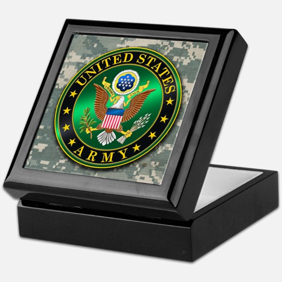 Unique Military Keepsake Box