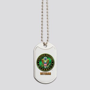 U.S. ARMY VETERAN Dog Tags