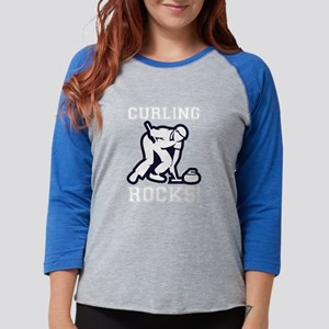 Curling Rocks - Gifts for Curl Long Sleeve T-Shirt