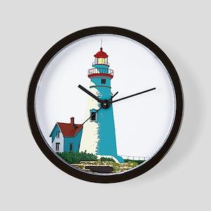 Marblehead Lighthouse Wall Clock