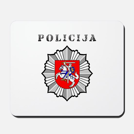 Policija Mousepad
