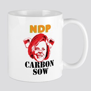 Carbon Sow Mugs