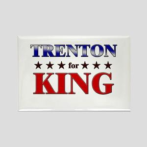 TRENTON for king Rectangle Magnet