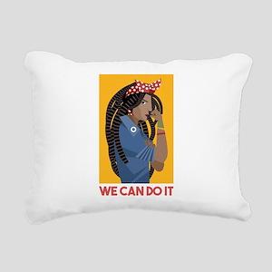 We can do it Rectangular Canvas Pillow