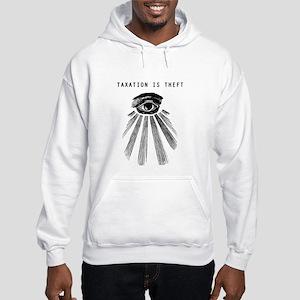 Taxation Is Theft Men's Hoodie Sweatshirt
