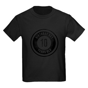 10th Birthday T Shirts