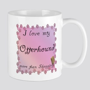 Otterhound Shopping Mug