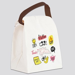 Girl power Canvas Lunch Bag