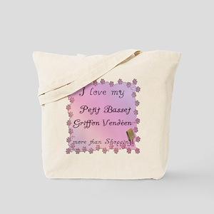 PBGV Shopping Tote Bag