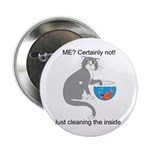 """Naughty Kitty 2.25"""" Button (100 pack)"""