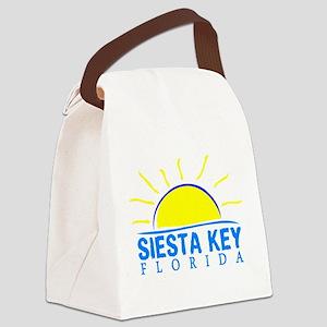 Summer siesta key- florida Canvas Lunch Bag