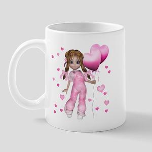 Kiki Hearts and Balloons Mug