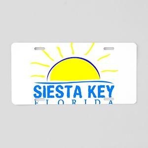 Summer siesta key- florida Aluminum License Plate
