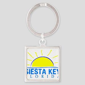 Summer siesta key- florida Keychains