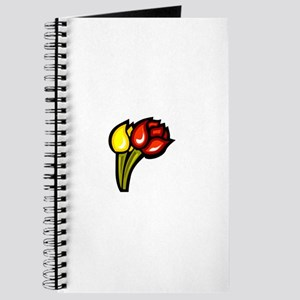 Tulip Flowers Journal
