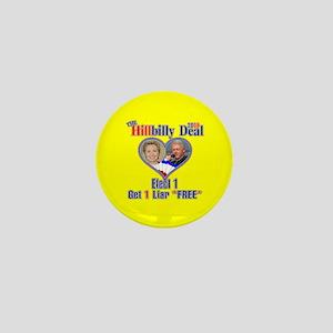 Hillbilly 2008 Deal Mini Button