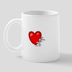 Bunny Heart Mug