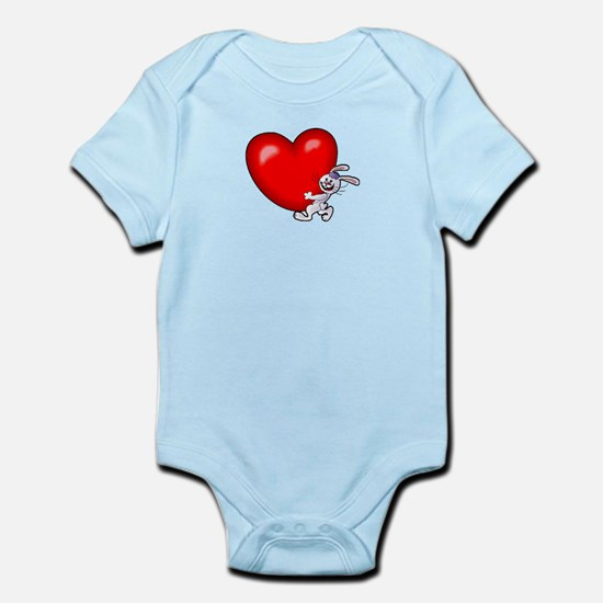 Bunny Heart Infant Bodysuit