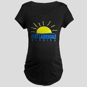 Summer fort lauderdale- florida Maternity T-Shirt