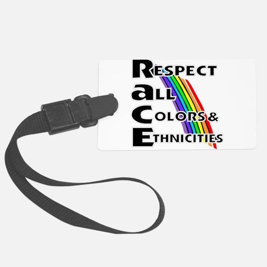 Race relations Luggage Tag