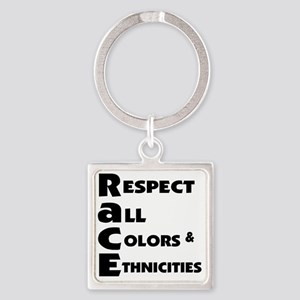 Race relations Keychains