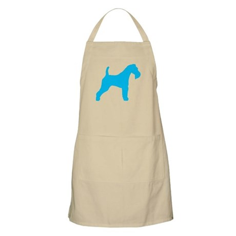 Blue Wire Fox Terrier BBQ Apron