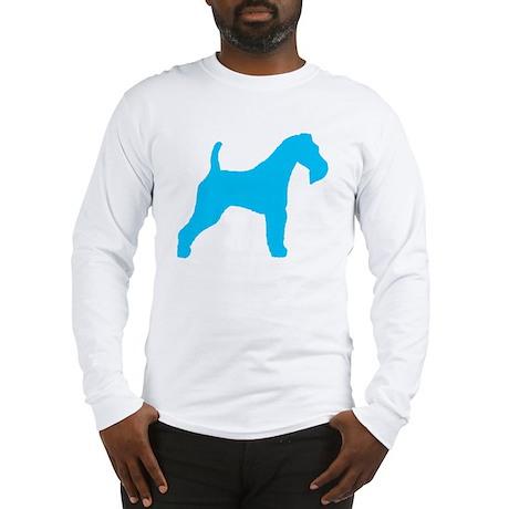 Blue Wire Fox Terrier Long Sleeve T-Shirt