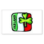 Irish Flag of Ireland Rectangle Sticker