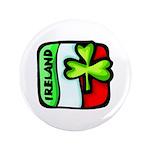 "Irish Flag of Ireland 3.5"" Button (100 pack)"