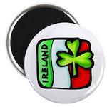 "Irish Flag of Ireland 2.25"" Magnet (100 pack)"