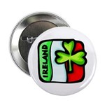 "Irish Flag of Ireland 2.25"" Button"