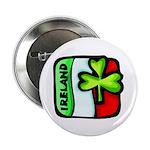 "Irish Flag of Ireland 2.25"" Button (100 pack)"
