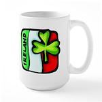 Irish Flag of Ireland Large Mug