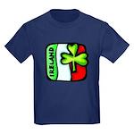 Irish Flag of Ireland Kids Dark T-Shirt
