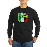 Irish Flag of Ireland Long Sleeve Dark T-Shirt