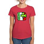 Irish Flag of Ireland Women's Dark T-Shirt
