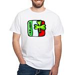 Irish Flag of Ireland White T-Shirt