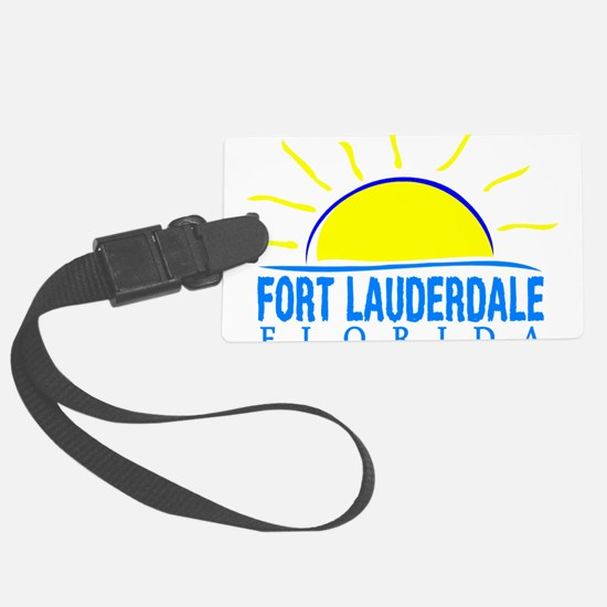 Summer fort lauderdale- florida Luggage Tag