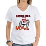 ROCKING MOAB Women's V-Neck T-Shirt