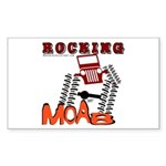 ROCKING MOAB Rectangle Sticker