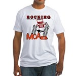 ROCKING MOAB Fitted T-Shirt