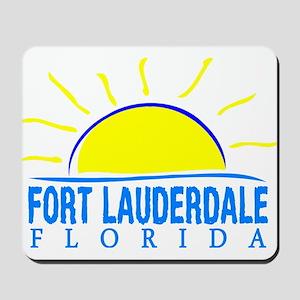 Summer fort lauderdale- florida Mousepad