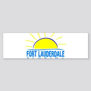 Summer fort lauderdale- florida Bumper Sticker