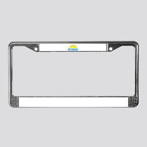 Summer fort lauderdale- florid License Plate Frame