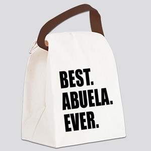 Best Abuela Ever Canvas Lunch Bag