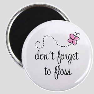 Don't Forget To Floss Magnet